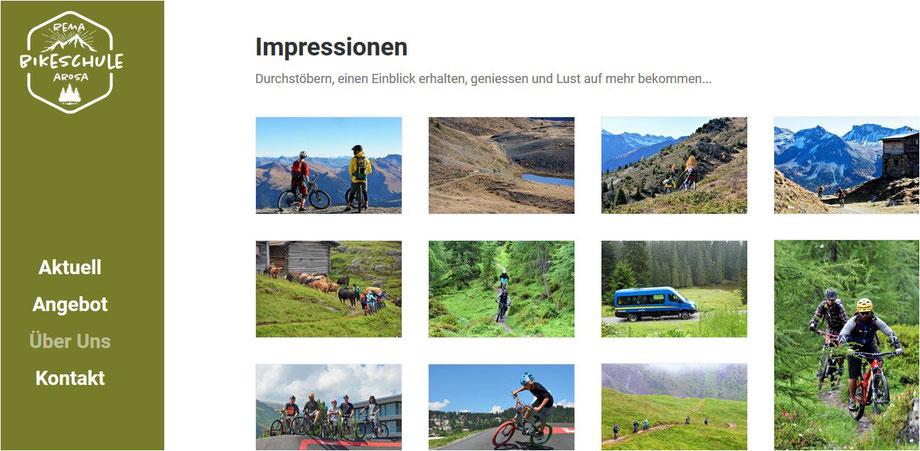 biketouren schweizer alpen