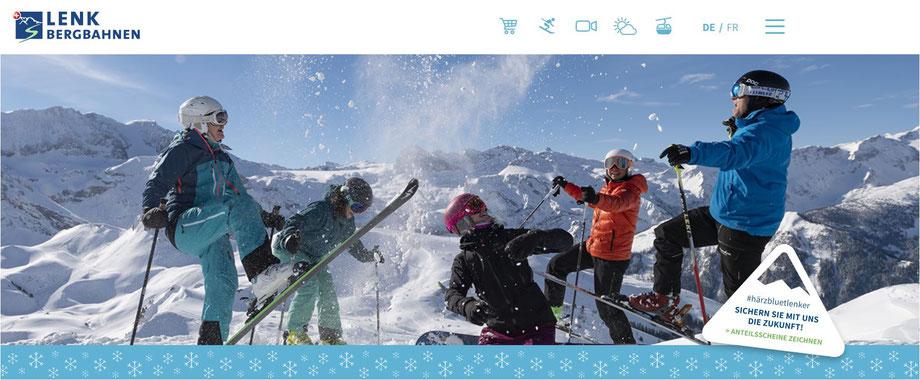 skifahren berner oberland