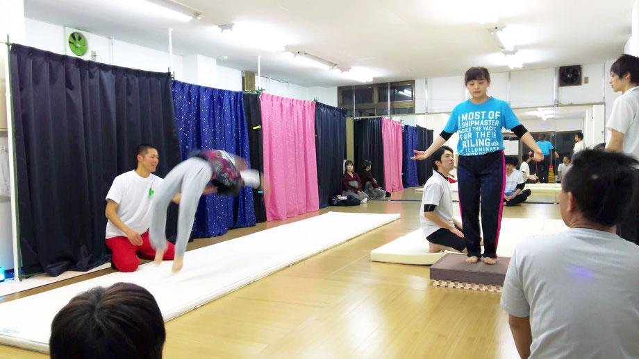 山本侑奈 やまもとゆうな 埼玉 所沢 狭山市 アクロバット バク転 教室 ダンススクール