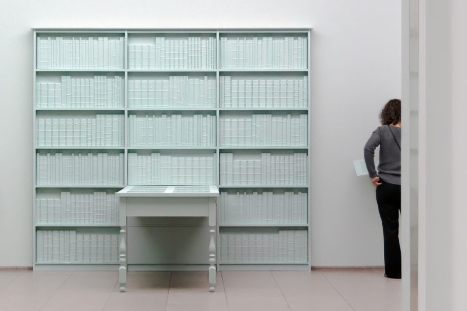 Barbara Bloom: Semblance of a House: Library, 2013