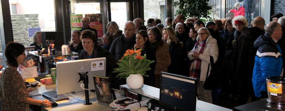 Volles Haus im Central-Kino im Würzburger Bürgerbräu am 20. Januar 2019 bei der Masuren Multivision.