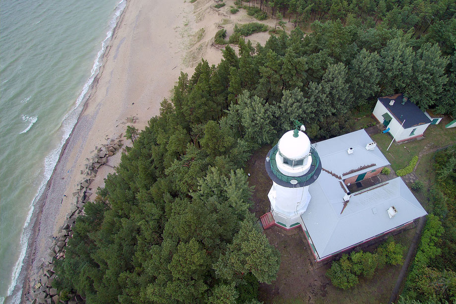 Leuchtturm bei Užava, Lettland