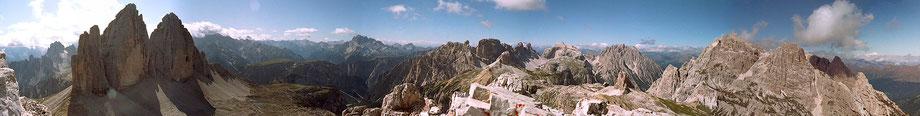Panorama Dolomiten