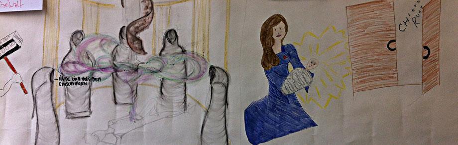 "Storyboard ""Argonauten"" Workshop"
