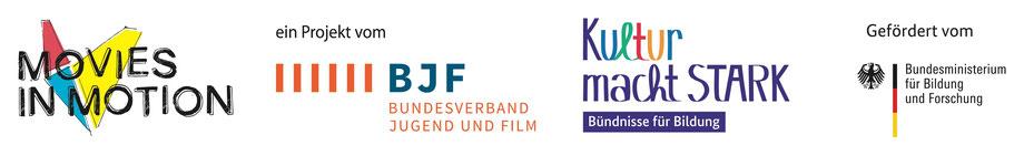 Movies in Motion, Bundesverband Jugend und Film, Kultur macht Stark, Bundesministerium für Bildung und Forschung