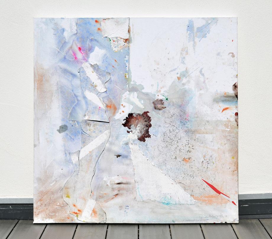 """""""Joy"""" 2015 • acrylic on canvas • 110 x 100 cm"""