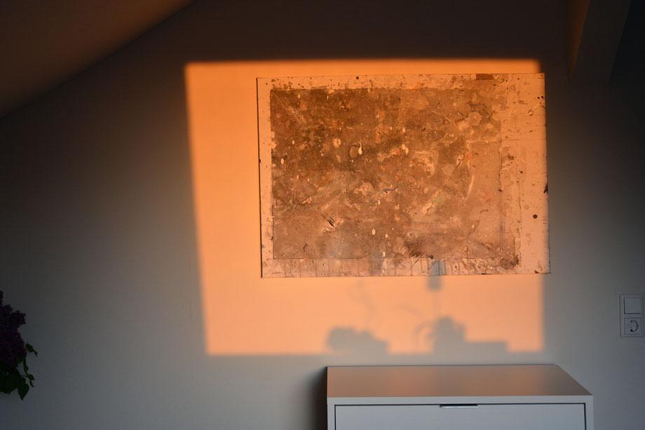 """""""Imprint"""" 2017 • acrylic on canvas • 70 cm x 100 cm"""