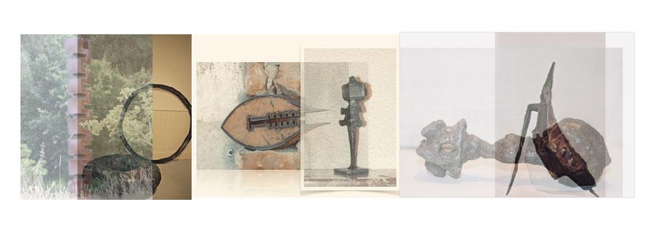 metal art sculptures by David Vanorbeek sculptor in France
