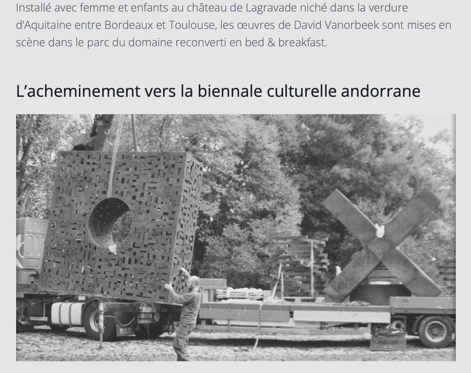Biennale culturelle Andorrane