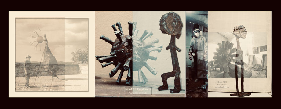 atelier artiste sculpteur vanorbeek