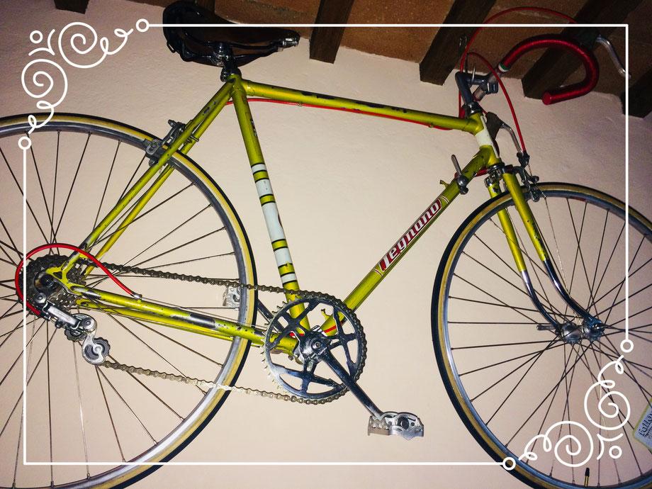 legano bici epoca bottega faggi vintage