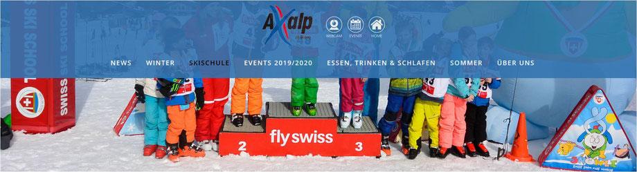 skifahren berner alpen