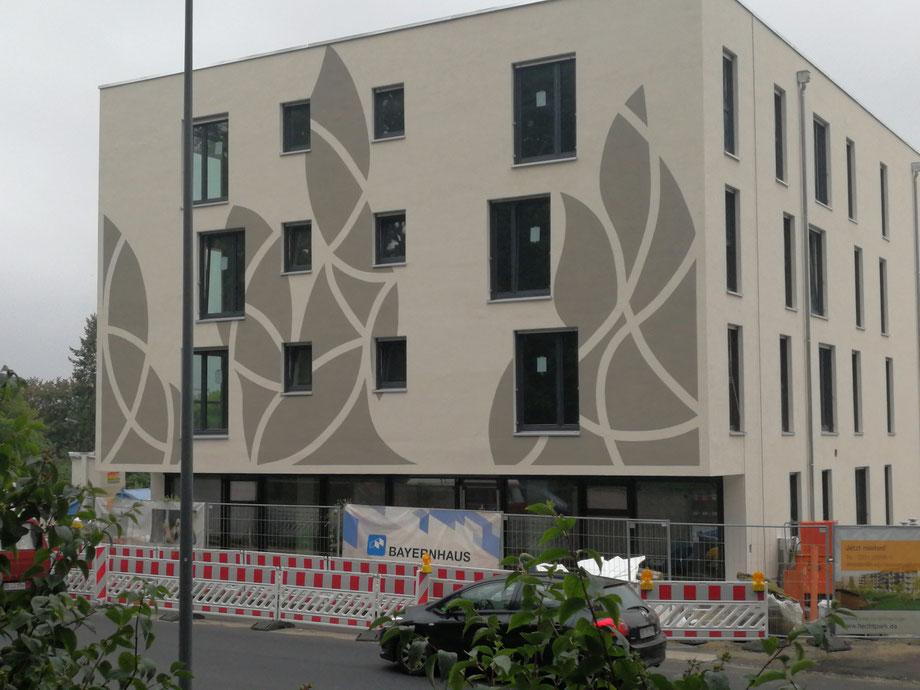moderne Graffiti Wandmalerei Dresden Berlin