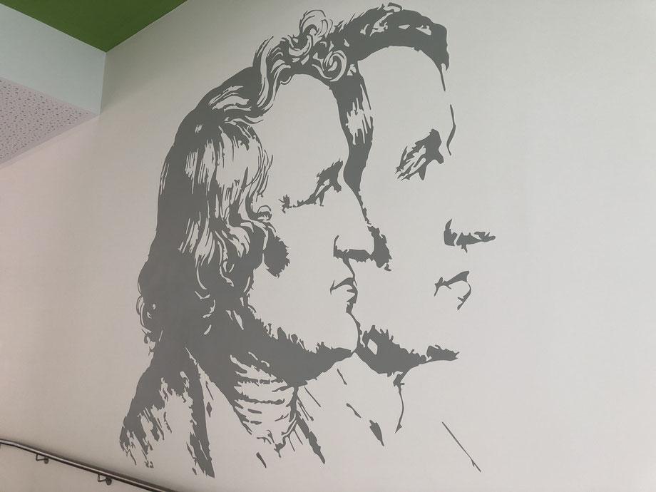Wandmalerei Preise- Wandmalerei Innenraum - Wandmalerei Berlin- Wandmalerei Berlin-Wandmalerei im Innenraum. Die Gestaltung von Innenräumen und Fassaden mit Hilfe der Malerei ist eine spezielle Form des Raumdesigns. Einzigartige Bilder zu schaffen, die da