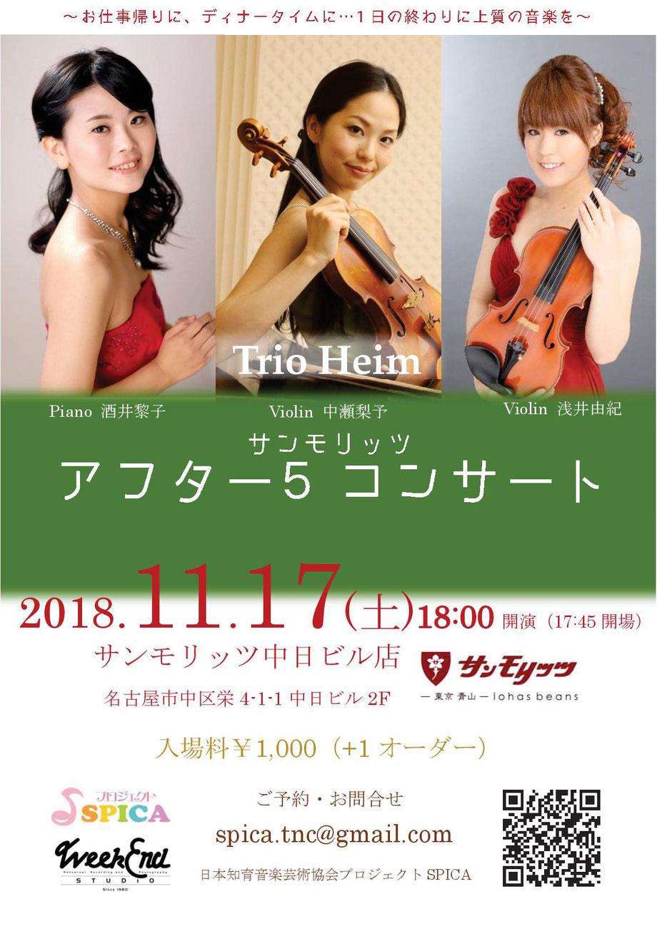 11/17(土)TrioHeim