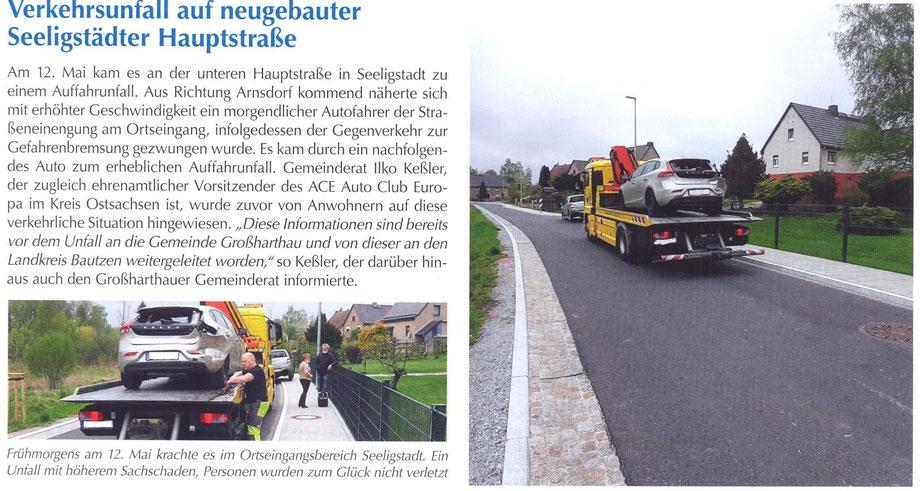 Bild: Seeligstadt Unfall 2021