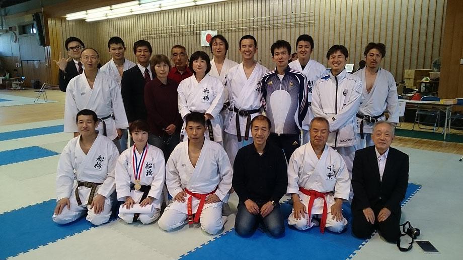 29 April, 2017 at Chiba Karate Tournament
