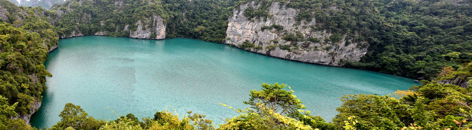 Natur Thailand See Naturschutz