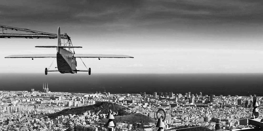 Avión Tibidabo, Barcelona atracción