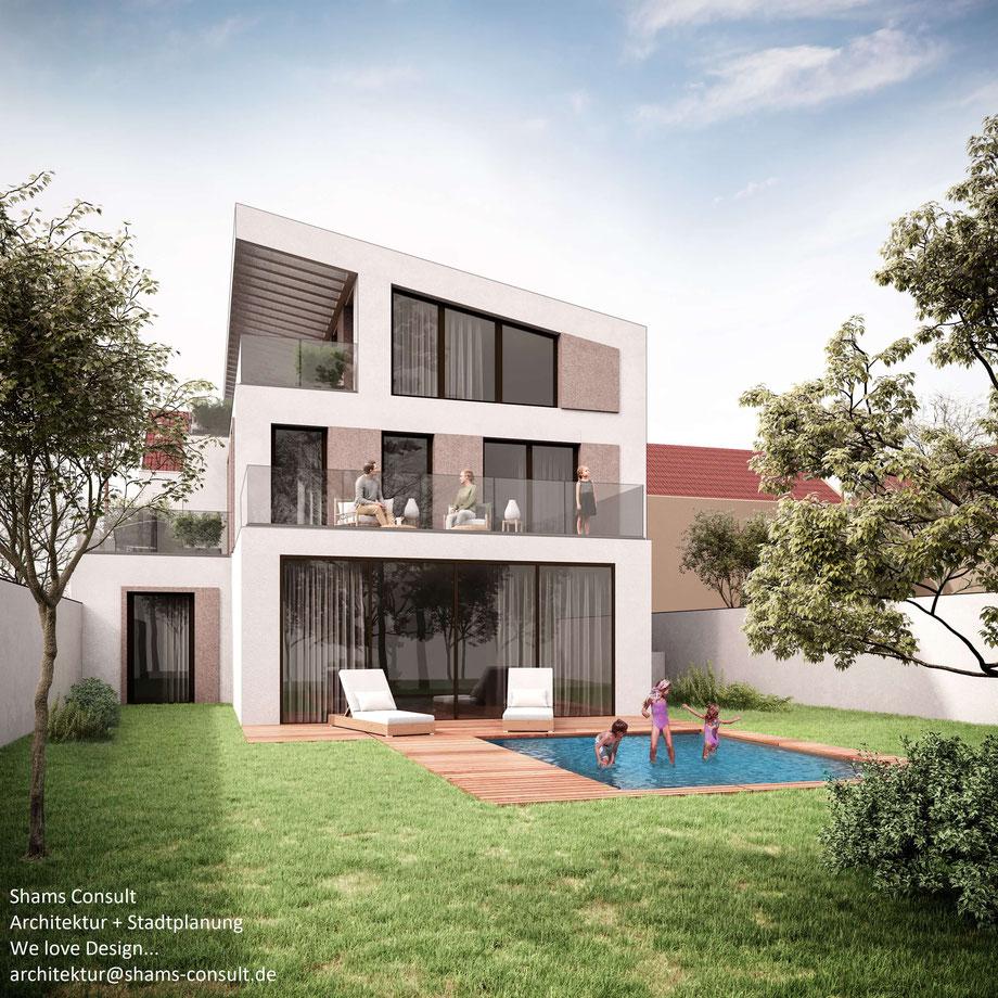 Architektenleistung: Leistungsphasen 1-8 HOAI
