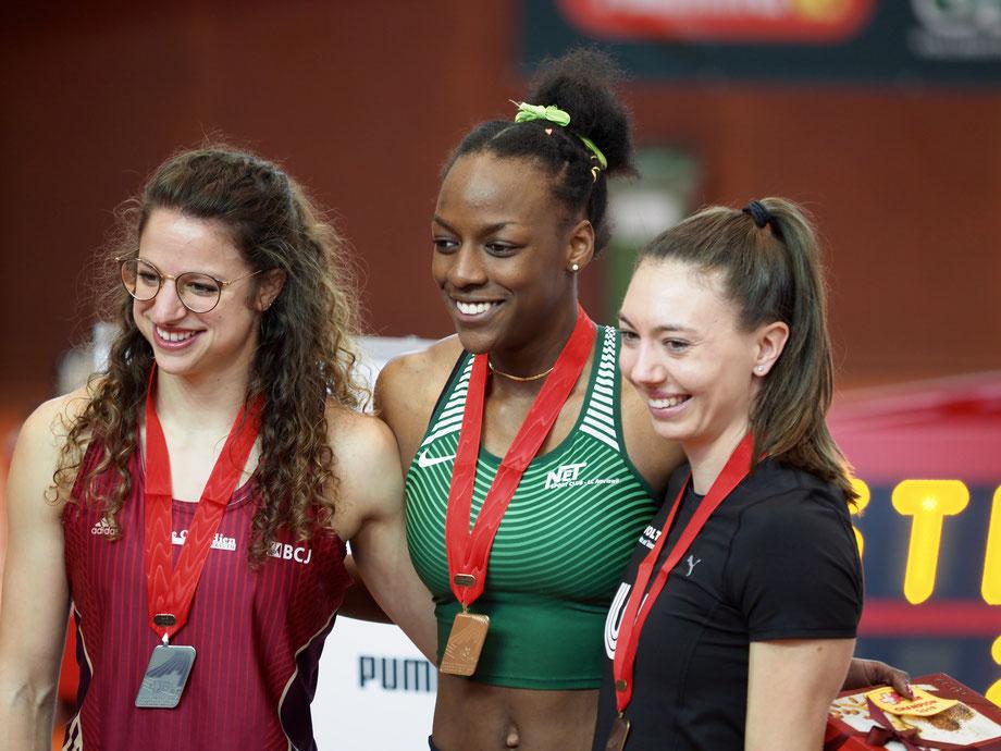 Yasmin Giger an den Europameisterschaften