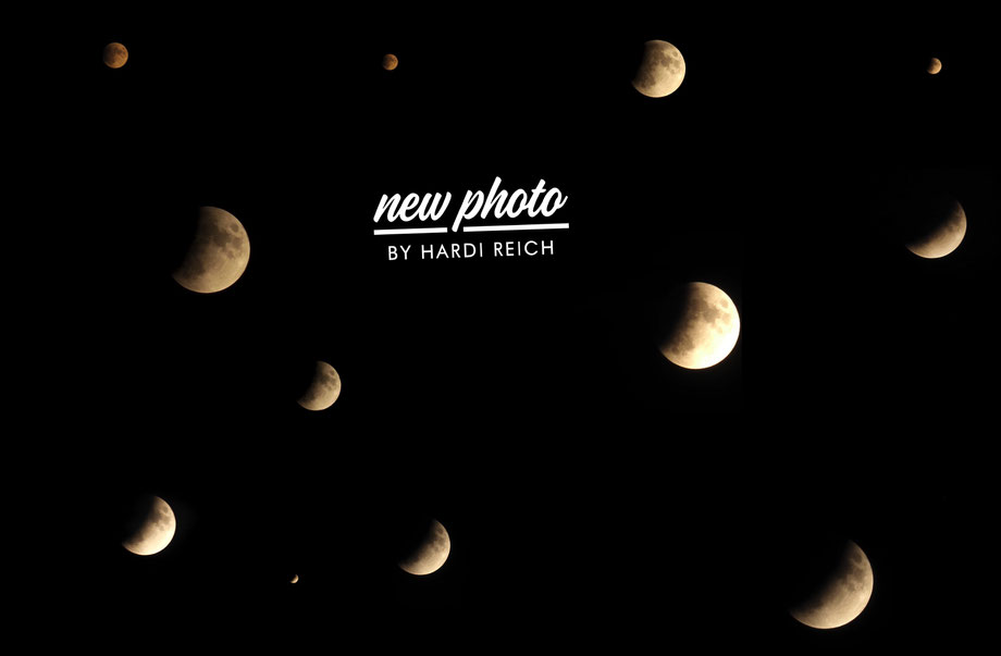 ...partielle Mondfinsternis vom 16.07. 2019
