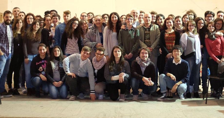 Seminar in Music Conservatoire of Foggia (Italy)