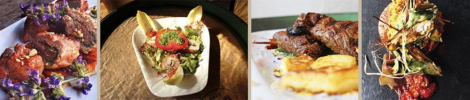 Essen, Fleisch, Barbecue, Gemüse, Grill, Speisekarte, Restaurant