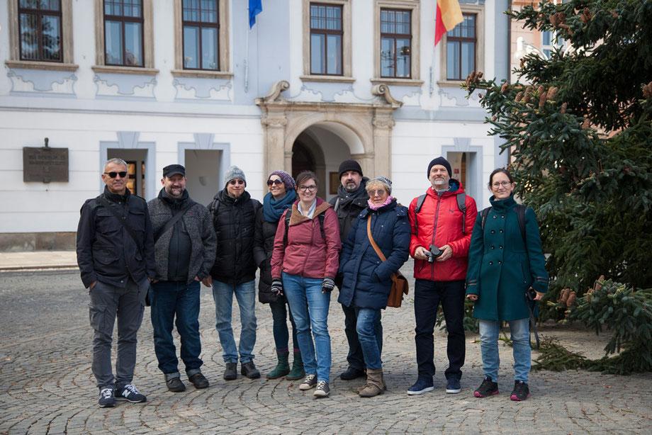 Lohnzeichnergilde OÖ, Zugreise, Budweis, Linz, NextComic Festival 2019