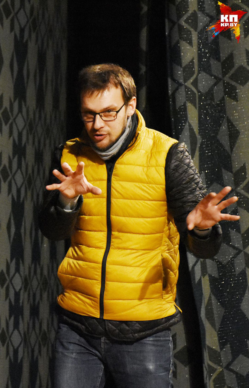 Виталь Кравченко уверен: коммерчески успешный спектакль – не обязательно комедия. Фото: Татьяна МАТУСЕВИЧ