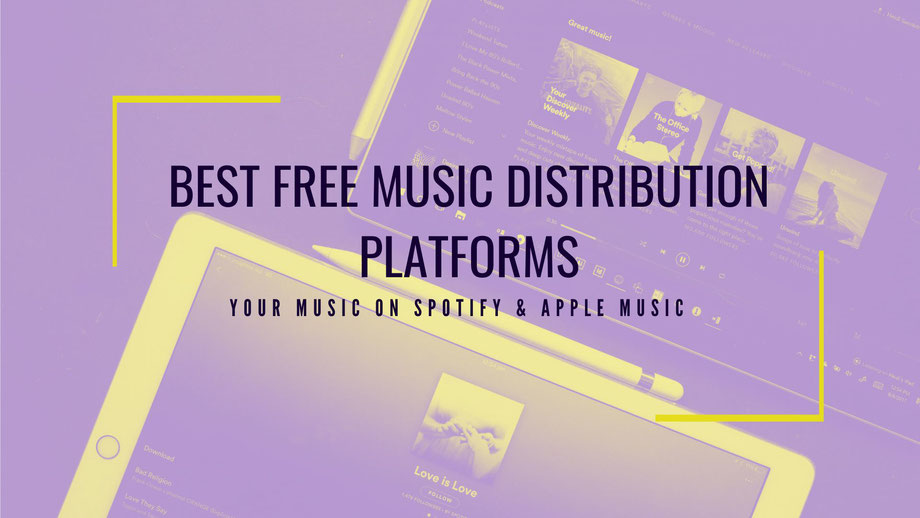 How to distribute my own music online? Music Aggregator check!