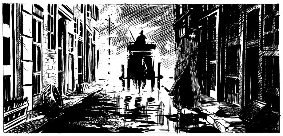 """Auszug aus der Graphic Novel """"From Hell"""""""