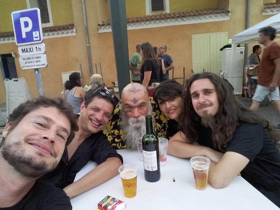 after show à Néoules !