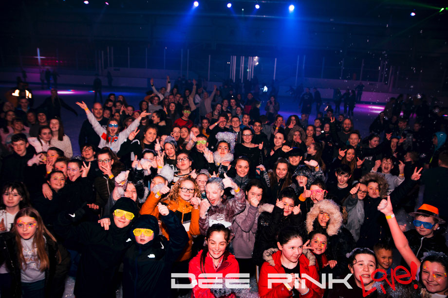 Dee Rink Live - Club Nights On Ice- Ice Disco - Deeside