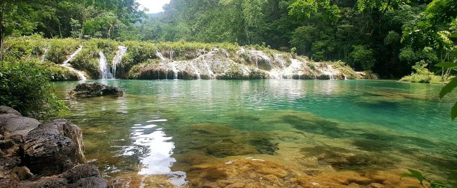 Der Fluss Semuc Champey