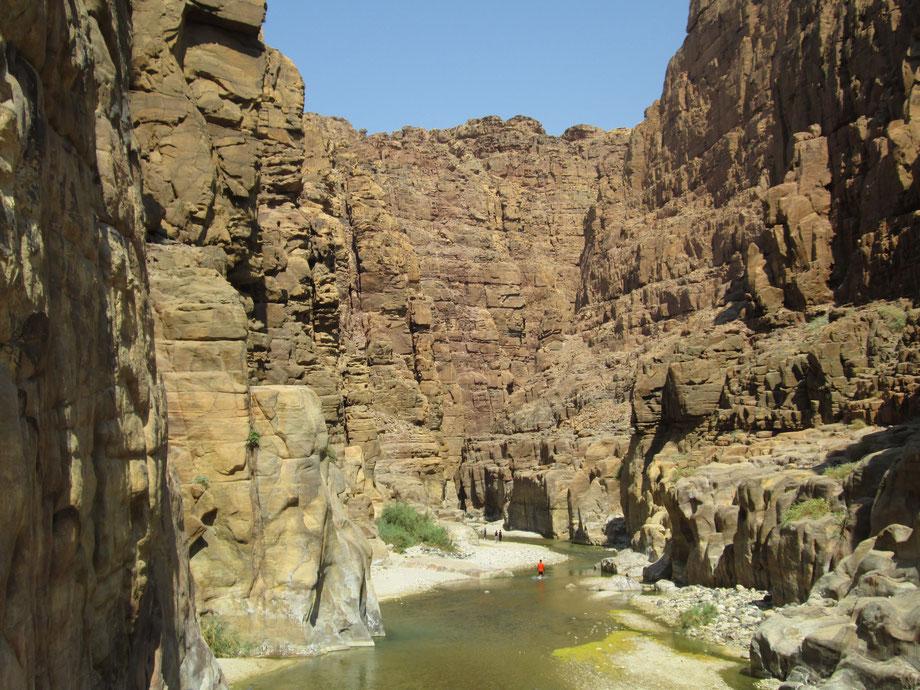 The canyon's entrance
