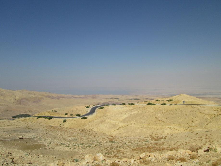 Vista sulla terra promessa dal Monte Nebo