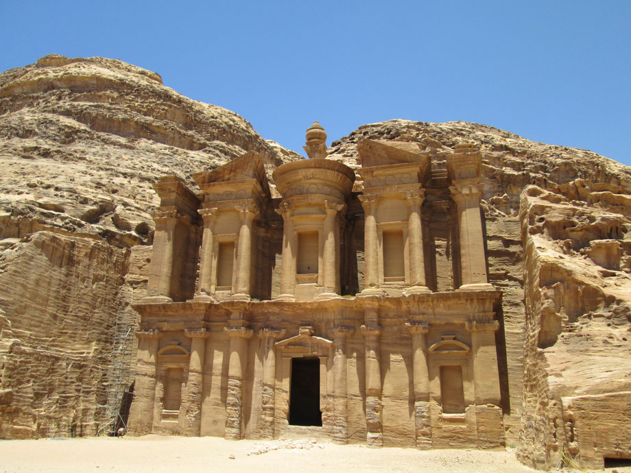 The monastir - Petra