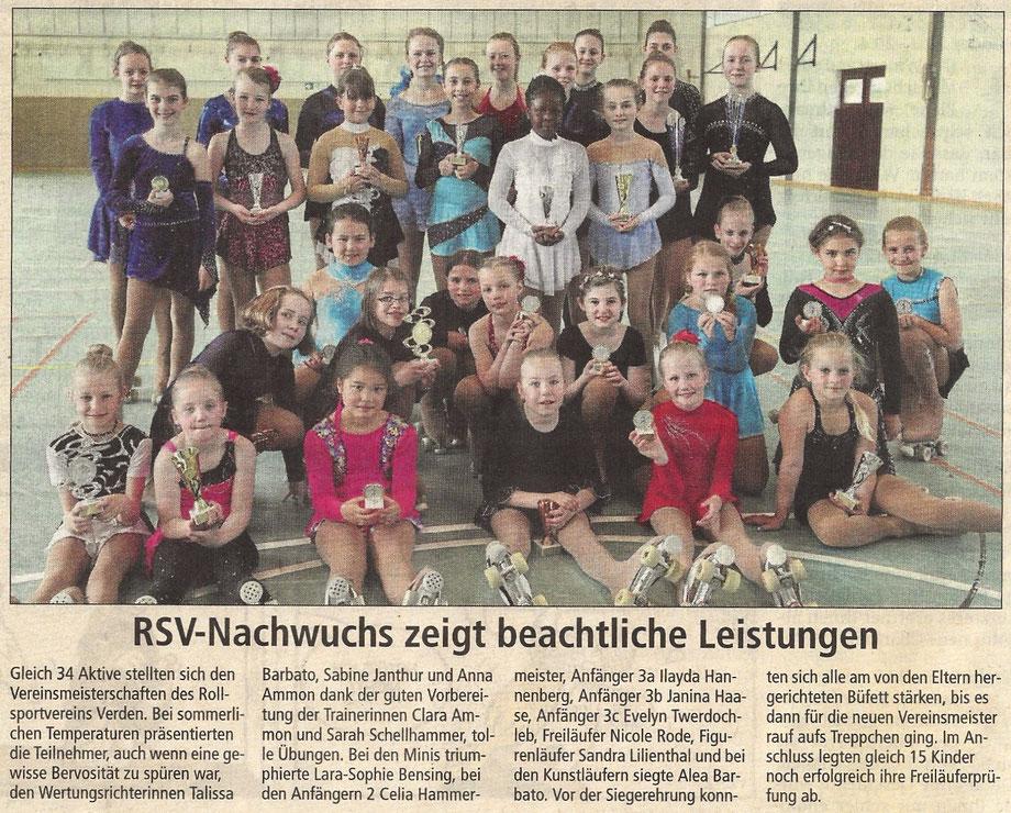 Verdener Aller-Zeitung 31.05.2017