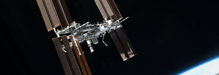 Internationale Raumstation - International Space Station (ISS) - in Dr. Brockers Weltraum-Abenteuer heißt sie Connexis