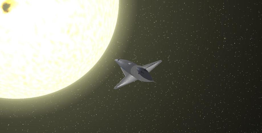 Sonne mit der Canubis