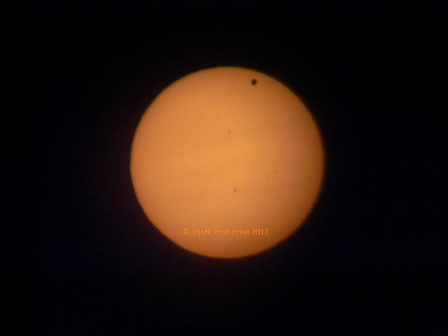 Sonne mit Venustransit