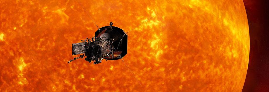 Parker Solar Probe - Näherekord: 6 Millionen Kilometer