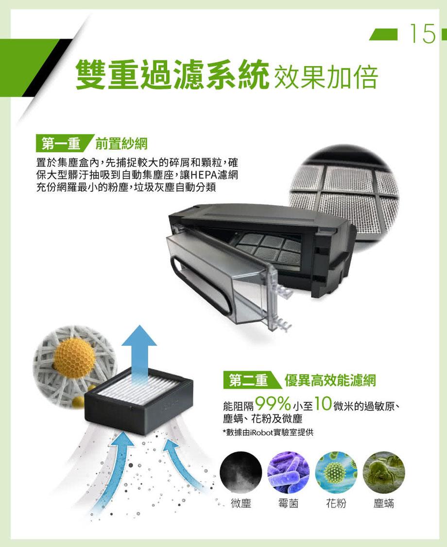 【iRobot】Roomba i7+台灣獨家限量版 自動倒垃圾&AI規劃路徑&wifi&APP 掃地機器人(限量版組合優惠)