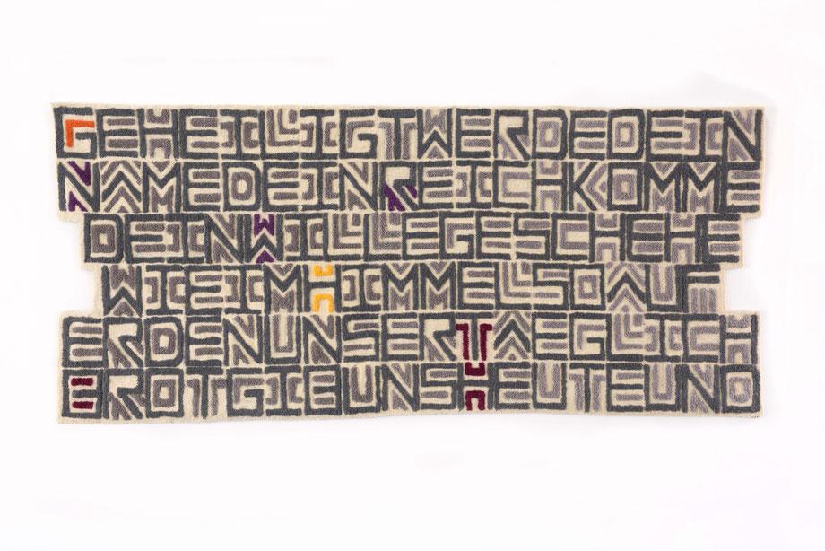 Tufting, Rasur, Wolle, 320 x 150 cm