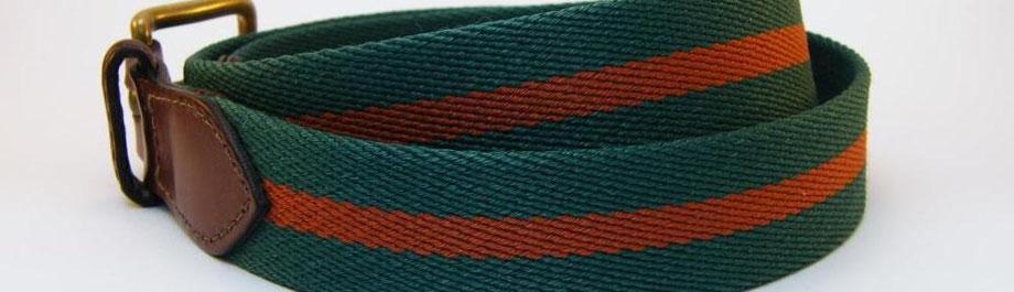 Gewebter Gürtel in Clubfarben von Joint Colours