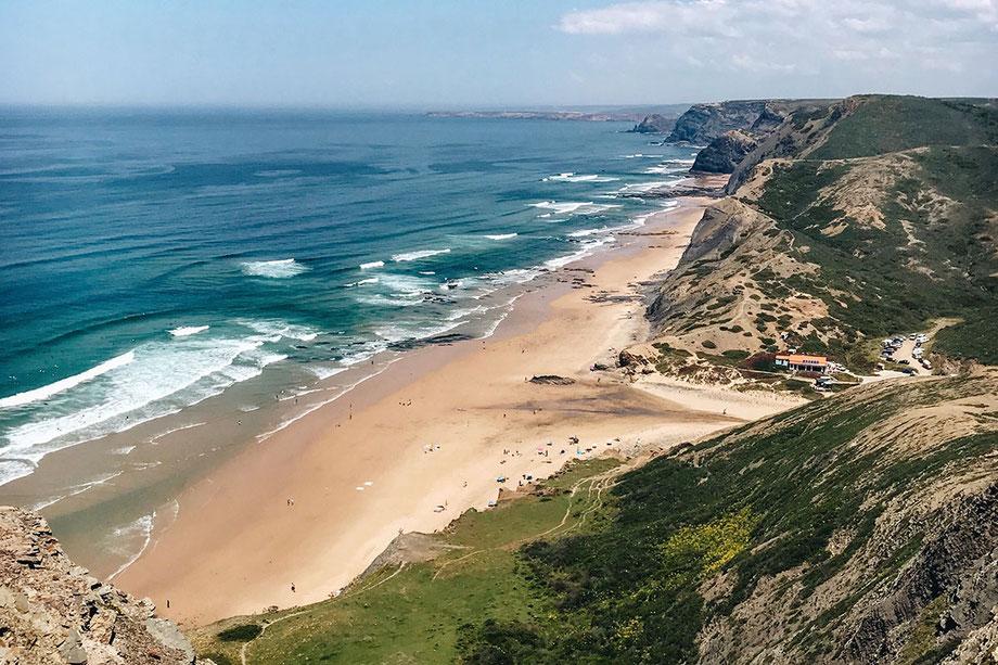 Praia da Cordoama an der Algarve