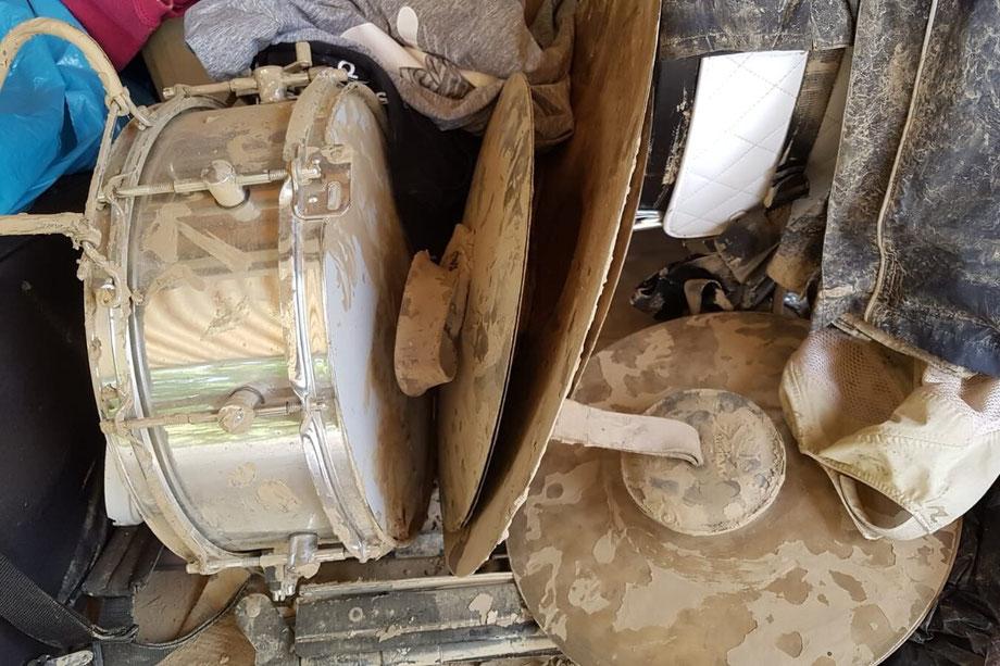 Die Flutkatastrophe im Kreis Ahrweiler hat auch viele Musikvereine getroffen. Instrumente sind weggespült worden oder vom Schlamm beschädigt worden. Musikvereinigung Bad Neuenahr-Ahrweiler