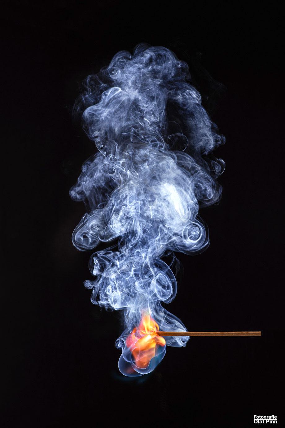 www.olafpinn-fotografie.de, Streichholzflamme