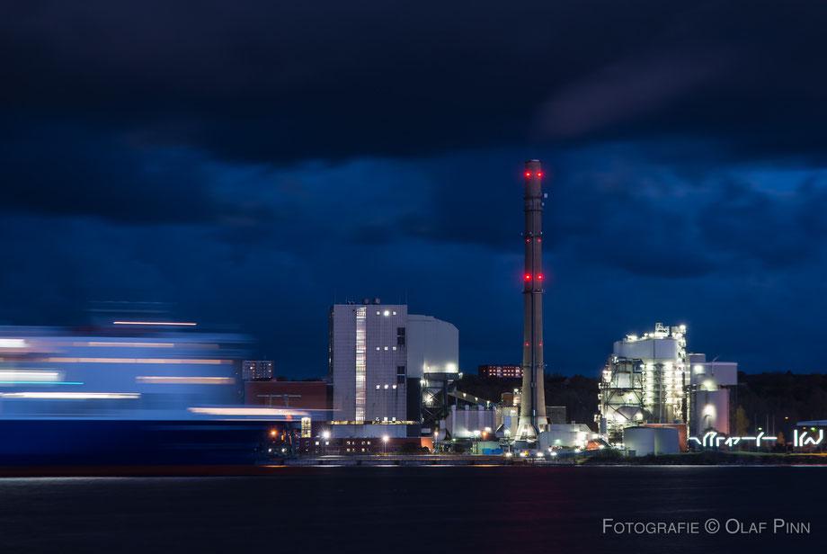Industrieanlage Ostufer Kiel